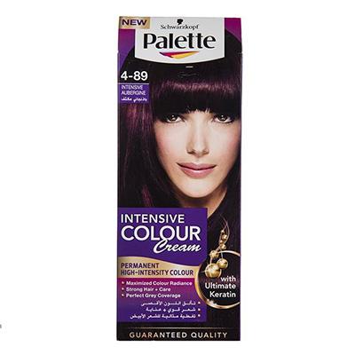 کیت رنگ موی پلت سری Intensive مدل Intensive Aubergine شماره 89-4 _ راهنمای خرید رنگ مو