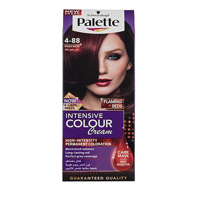 خرید کیت رنگ موی پلت سری Intensive مدل Intensive Dark Red شماره 88-4 _ راهنمای خرید رنگ مو