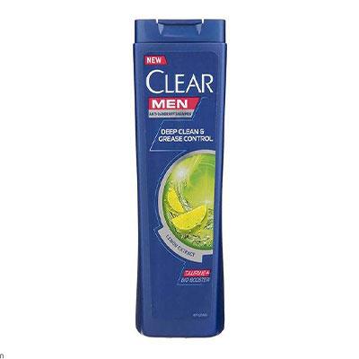 شامپو ضد شوره مردانه کلیر مدل Lemon Extract حجم 400 میلی لیتر _ خرید شامپو _ خرید هترین شامپو برای موهای چرب _ راهنمای خرید شامپو