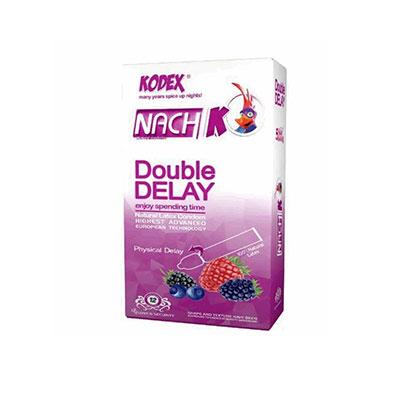 کاندوم تاخیری دوبل ناچ مدل Double Delay بسته 12 عددی _ راهنمای خرید کاندوم