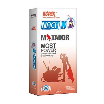 کاندوم خاردار و حلقوی کدکس مدل Matador بسته 12 عددی_راهنمای خرید کاندوم اینترنتی