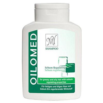 شامپو کاهش دهنده چربی مای مدل Oilomed حجم 200 میلی لیتر _ خرید شامپو _ خرید بهترین شامپو برای موهای چرب _ راهنمای خرید شامپو