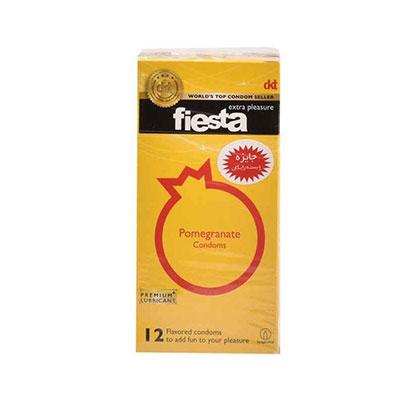 کاندوم انار تنگ کننده واژن فیستا مدل Pomegranate بسته 12 عددی_ راهنمای اینترنتی خرید کاندوم