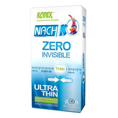 کاندوم کدکس مدل Zero Invisible بسته 12 عددی_راهنمای خرید کاندوم اینترنتی